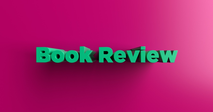 Book Review - 3d rendered headline