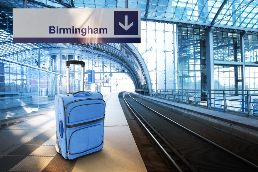 Departure for Birmingham, United Kingdom