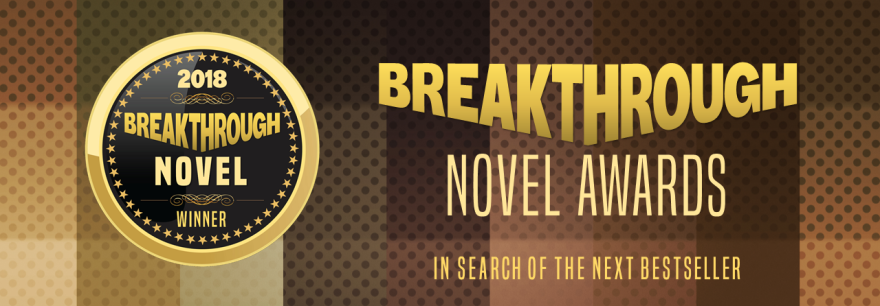 Breakthrough Novel Award logo