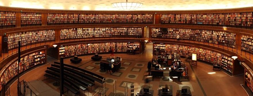 University image with books